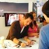 Autogrammstunde auf der IFA