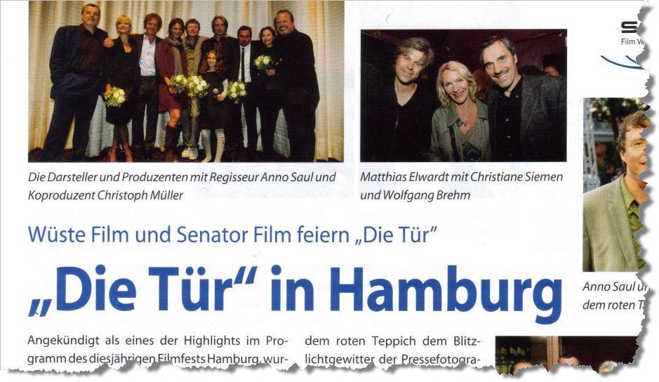 blickpunkt ausschnitt Beim Filmfestival in Hamburg